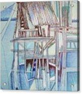 The Old Fishing Shack Acrylic Print