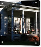 The Old Front Porch Acrylic Print