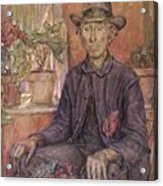 The Old Gardener 1921 Acrylic Print