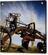 The Old Grader Acrylic Print