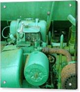 The Old Green Dumper Acrylic Print