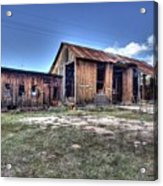 The Old Haunted Barn Acrylic Print