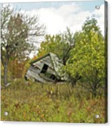 The Old Homestead And Orchard Acrylic Print