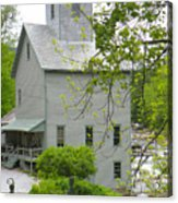 The Old Kingsley Mill Acrylic Print