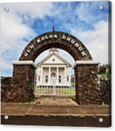 The Old Koloa Church Acrylic Print