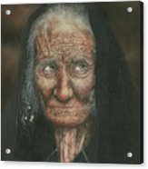 The Old Lady Acrylic Print