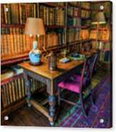 The Old Library Acrylic Print
