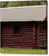 The Old Log Hut Acrylic Print