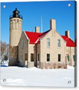 The Old Mackinac Point Lighthouse Acrylic Print