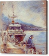 The Old Man And The Sea 01 Acrylic Print