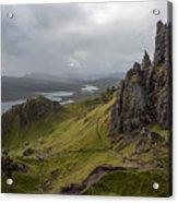 The Old Man Of Storr, Isle Of Skye, Uk Acrylic Print