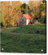 The Old Mill At Guilford Acrylic Print