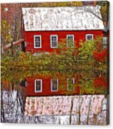 The Old Mill House Acrylic Print