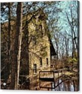 The Old Mill In The Countryside Acrylic Print