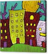 The Old Neighborhood Acrylic Print by Wayne Potrafka