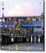 The Old Pier Acrylic Print