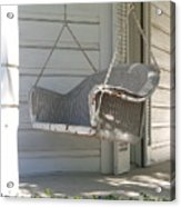 The Old Porch Swing. Acrylic Print
