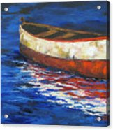 The Old Red Boat 2011 Acrylic Print