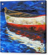The Old Red Boat II  Acrylic Print