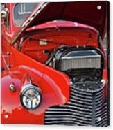 The Old Red Jalopy Acrylic Print