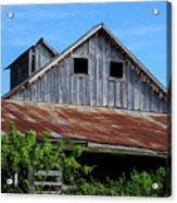 The Old Rusty Barn Acrylic Print