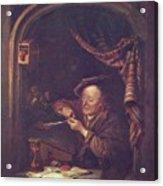 The Old Schoolmaster 1671 Acrylic Print