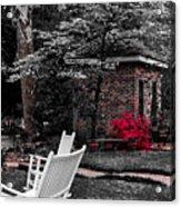 Smokehouse Red Acrylic Print