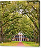 The Old South Version 3 Acrylic Print