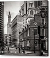 The Old State House Acrylic Print