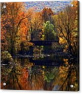 The Old Tressel Acrylic Print