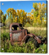 The Old Truck  Chama New Mexico Acrylic Print