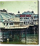 The Old Victorian West Pier Acrylic Print