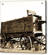 The Old Wagon Acrylic Print