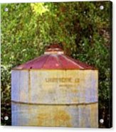The Old Water Tank Acrylic Print