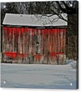 The Old Weathered Barn Acrylic Print