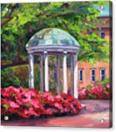The Old Well Unc Acrylic Print by Jeff Pittman