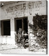 The Old Whistle Stop Cafe Acrylic Print