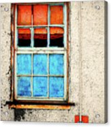 The Old Window Acrylic Print
