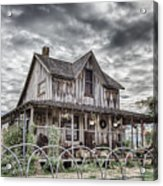 The Old Wood House Rogue Valley Oregon Acrylic Print