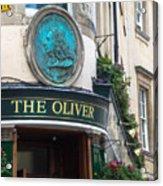 The Oliver Pub Acrylic Print
