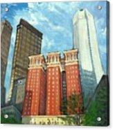The Omni William Penn Hotel Acrylic Print