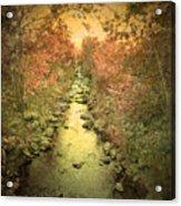 The Onset Of Autumn Acrylic Print
