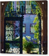 The Open Gate Acrylic Print