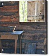 The Open Window Acrylic Print