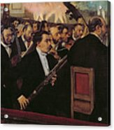 The Opera Orchestra Acrylic Print