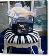 The Original Fish Chair  Acrylic Print