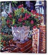 The Ornamental Floral Gate Acrylic Print