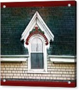 The Ornamented Gable Acrylic Print