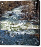 The Other Side Of The River Acrylic Print
