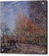 The Outskirts Of The Fontainebleau Forest Acrylic Print